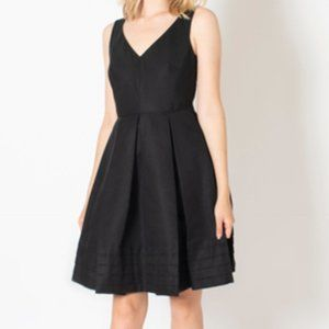 Kate Spade Pleated Black Dress